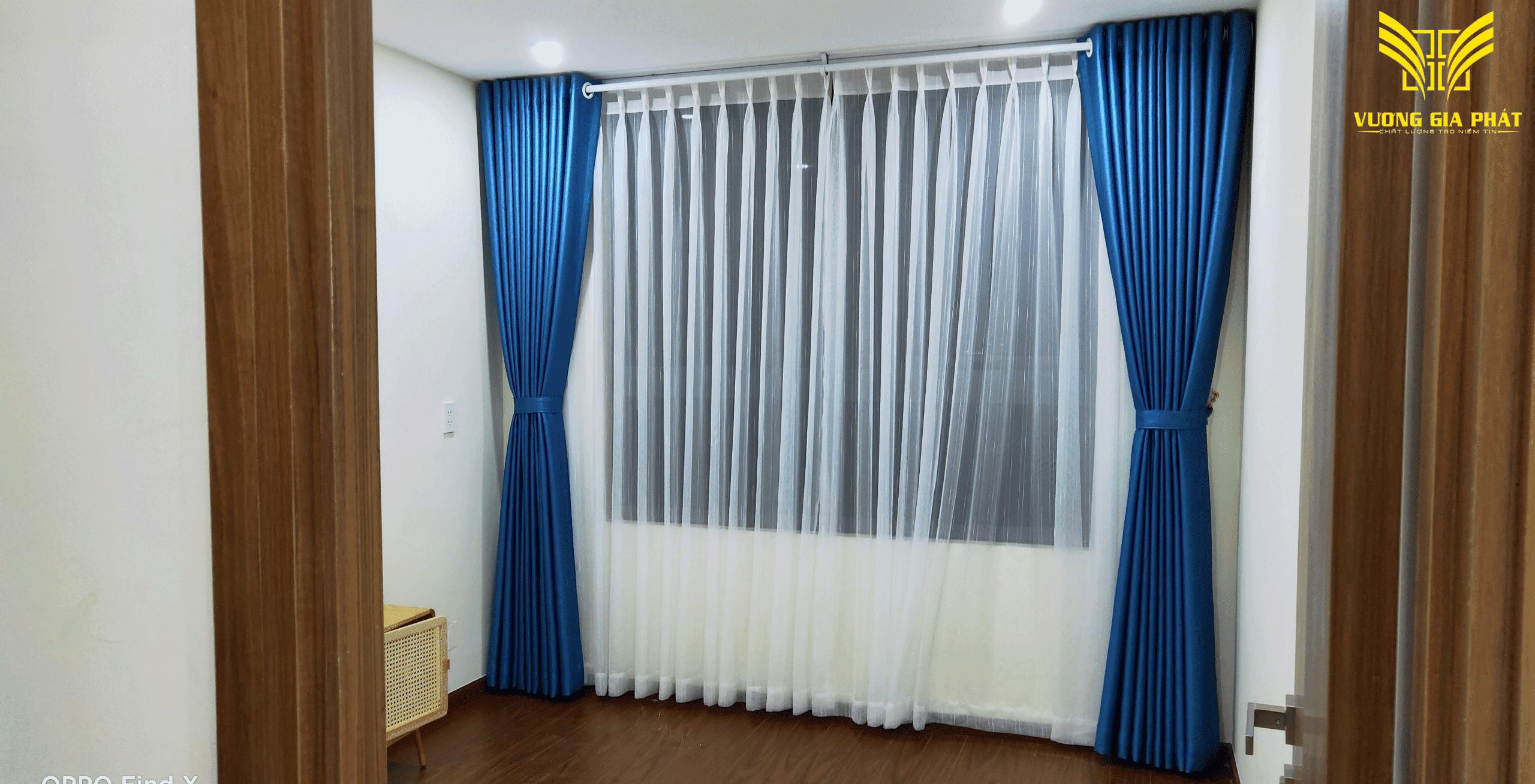 rèm vải 2 lớp đẹp Vinhome tphcm 0898.282.445